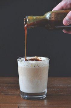 Boozy Pumpkin White Hot Chocolate 2 Ways