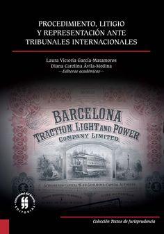 Procedimiento, litigio y representación ante tribunales internacionales