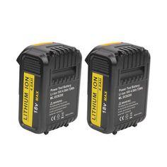 DIY  Tools Dewalt 18v 4.0 Ah Battery