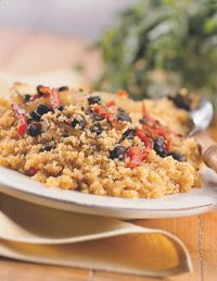 Quinoa With Peppers And Beans - Healthy Recipe Finder   Prevention