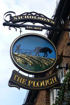 """*Enseigne """"ThePlough"""", Chelmsford *"""