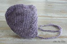 Little Miss Stitcher: Newborn Knit Bonnet