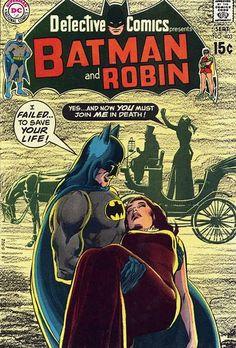 Detective Comics - DC Comics - classic cover by legendary artist Neal Adams Batman Comic Books, Batman Comics, Comic Books Art, Comic Art, Robin Comics, Batman Poster, I Am Batman, Batman Robin, Superman