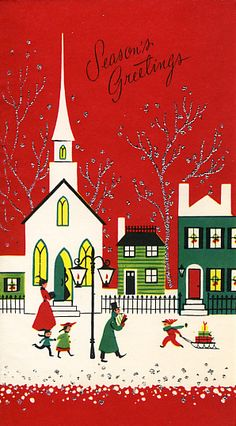 Vintage Christmas Card* 1500 free paper dolls toys at Arielle Gabriels The International Paper Doll Society Christmas gift for Pinterest pals also free Asian paper dolls The China Adventures of Arielle Gabriel Merry Christmas to Pinterest users *