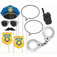 Photo Props Polizei  Photo Booth Props