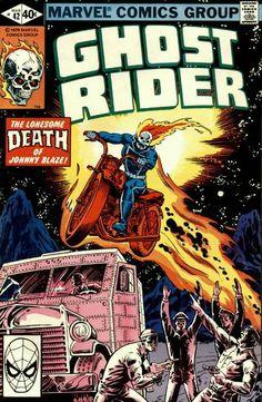 Ghost Rider Vol. 2 # 42 by Bob Budiansky & Bob Wiacek