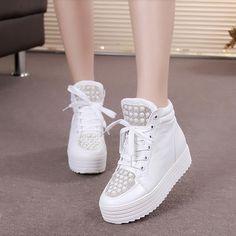 Cheap 2014 mujeres del otoño Top moda Rhinestone ascensor Invisible zapatos de lona Young Girls dulce zapatillas de deporte, Compro Calidad Moda Mujer Sneakers directamente de los surtidores de China:         Usted puede mezcló cualquier color.  Si usted tiene cualquier pregunta email