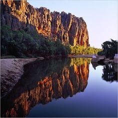 Sunset Windjana Gorge - Western Australia