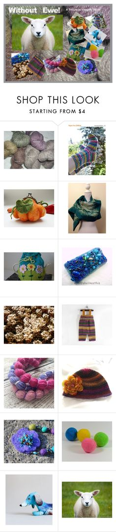 """""""Without Ewe!"""" by rescuedofferings ❤ liked on Polyvore featuring integrityTT, TintegrityT and EtsySpecialT"""