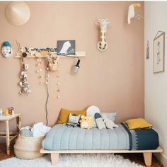 SHOP THE LOOK Kids Room Decor Ideas to Inspire is part of Kid room decor - We all know how difficult it is to decorate a kids bedroom A special place for any type of kid, this Shop The Look will get you all the kid's bedroom decor ide Boys Room Decor, Girl Room, Room Kids, Girl Nursery, Nursery Room, Deco Kids, Kids Room Design, Baby Design, Design Bedroom