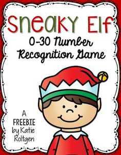 This resource includes two versions of the activity! The purpose of the game is to hide the elf behind a number and then have the students guess where the elf is by naming the number. Kindergarten Classroom, Fun Math, Teaching Math, Math Activities, Preschool Activities, Elementary Math, Math Games, Teaching Ideas, Classroom Ideas