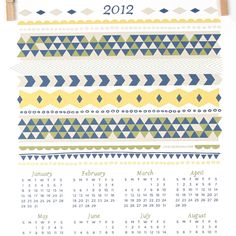 2012 Calendar - these are free downloads!