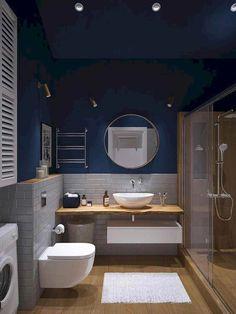 42 Super Creative DIY Bathroom Storage Projects to Organize Your Bathroom on a Budget - The Trending House Bad Inspiration, Bathroom Inspiration, Bathroom Ideas, Bathroom Organization, Bathroom Storage, Bathroom Inspo, Bathroom Styling, Guys Bathroom, Organized Bathroom