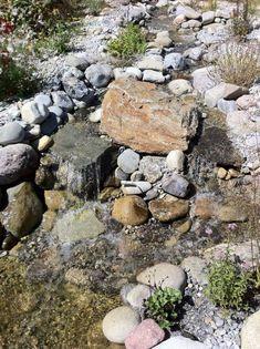 Quellstein, Wasserspiel, Gartenbrunnen, Wasser Im Garten | Ausstellung  BRUNNENSCHMIEDE.DE | Quellsteine | Pinterest