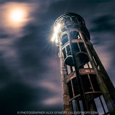Caught in all its dramatic glory by Photographer Alex Efimoff is the Bastia Hill Water Tower in Whanganui. This grand old girl dates back to 1927.