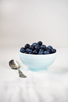 blueberry bowl by onegirlinthekitchen, via Flickr