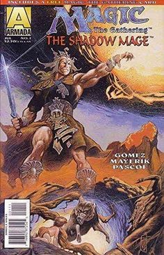 Magic: The Gathering-The Shadow Mage #1 VF/NM ; Armada comic book