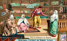 At a shoemaker's in Turkey by Anonymous