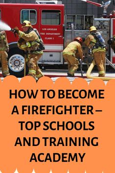 Excel in the field of fire science. Know how to become a firefighter in the US which includes Job Description, Salary, Skills and Career Aspects of a firefighter. Firefighter School, Becoming A Firefighter, Firefighter Training, Firefighter Family, Female Firefighter, Fire Training, Career Day, Training Academy, Firefighters