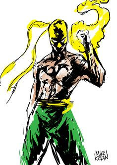 Iron Fist - Mike Kevan