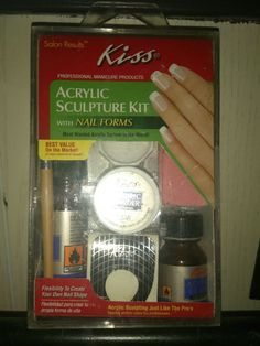 Kiss at home acrylic nail kit