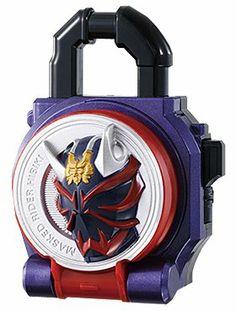 Amazon.com: Bandai Kamen Rider Gaim Sound Lock Seed Series SG Lock Seeds 03 Hibiki Lock Seed: Toys & Games