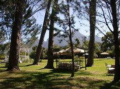 I loved Boschendal Manor and Winery