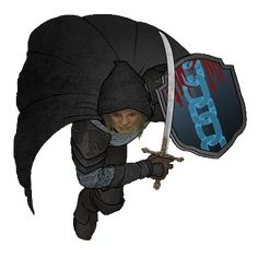 m Ranger Med Armor Shield Cloak token guerrier token sans ombre Advanced Dungeons And Dragons, Dungeons And Dragons Characters, Dnd Characters, Fantasy Characters, Fantasy Map, Medieval Fantasy, Rpg Map, Satanic Art, Human Art