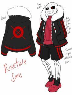 Rosetale!Sans by CNeko-chan on DeviantArt