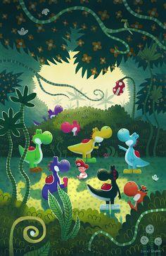 Yoshi's Island by Daniel Shaffer