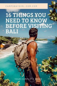 16 Things To Know Before Travelling To Bali For The First Time - Campsbay GirlYou can find indonesia travel a. Bali Travel Guide, Asia Travel, Travel Guides, Travel Tips, Travel To Bali, Travel Goals, European Travel, Budget Travel, Lombok