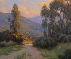 BoldBrush Painting Competition Winner - April 2012; Evening Light Catalina Island; Jesse Powell