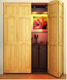 32 in. x 80 in. 32 in. Clear 6-Panel Solid Core Unfinished Wood Interior Closet Bi-fold DoorHome Depot