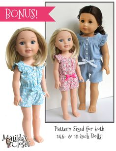 SEWING PATTERN: Ruffle & Tumble Romper (PDF) | Club Matilda