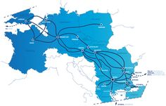 what Germany has...all internet exchange points from the east go through Frankfurt #paxtechnica