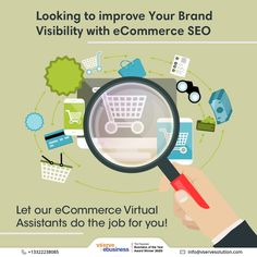 Increase the scope of your eCommerce business without compromising on the quality with the help of Vserve eCommerce virtual assistants. Trust us to deliver best of the assistance to drive sales and scale growth. #eCommerceSEO #SEOServices #VirtualAssistants #Vserve #MarketingServices #eCommerceMarketing #eCommerceBranding #SearchEngineOptimization #SocialMedia #SmallBusiness #DigitalMarketing