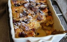 Pandoro Bread and Butter Pudding Recipe by Gino D'Acampo