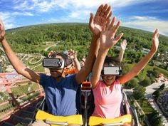 Virtual reality is revolutionizing the roller coaster experience