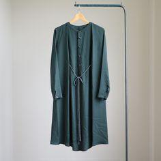 Edwina Hoerl - レイヤードワンピース #d.green(31D-01-16B)