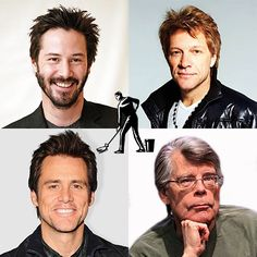 Fun Fact Friday! Before making a career change, Keanu Reeves, Jon Bon Jovi, Jim Carrey, and Stephen King all worked in the building services industry as janitors.
