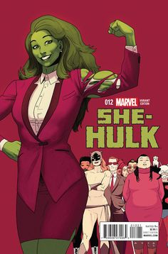She-Hulk #12 Sadly the last issue of her 5th on-going series. Deserved better art than it got because the story was great.
