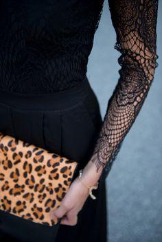 Leopard & lace #swoonboutique