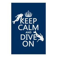 """Keep Calm and (scuba) Dive On...but seriously? I""""m the mom...not sure I'm so calm when my boys go scuba diving!!!"""