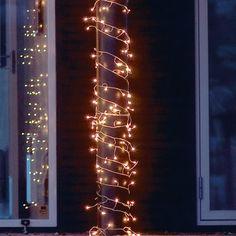 Rubi LED lyskæde - Hvid ledning - 96 klare pærer 169,00kr