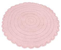 Kidsdepot vloerkleed Roundy roze 110cm   Lief en Klein