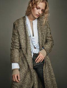 Блуза со съемным рюшем на рукавах Другой вариант. кстати, этот РЮШ можно ещё и вокруг шеи обматывать — будет красивый воротник… Модная одежда и дизайн интерьера своими руками