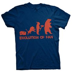 Chicago Bears Evolution Shirt -- Bears At Top Of NFC North Food Chain