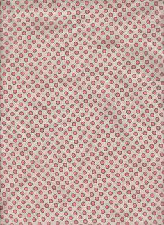 Pink Polka Dot Honeycomb fabric window curtain by yoursewingroom