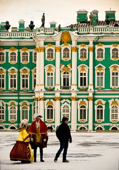 The Hermitage - #russia #palace #stpetersburg #winter #palace #hermitage #Museum