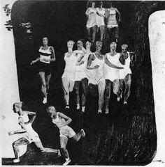 Художник Александр Дейнека. Живопись. Кросс.. 1931